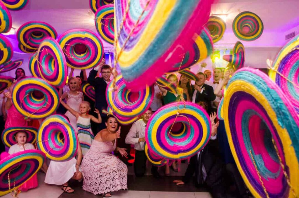 zabawa meksykańska na weselu