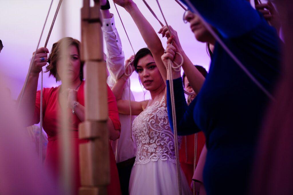 atrakcja na wesele wieża