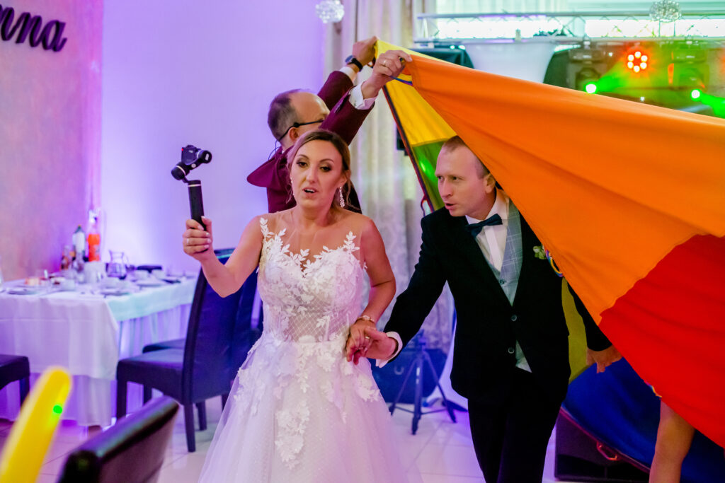 zabawa na weselu imprezja